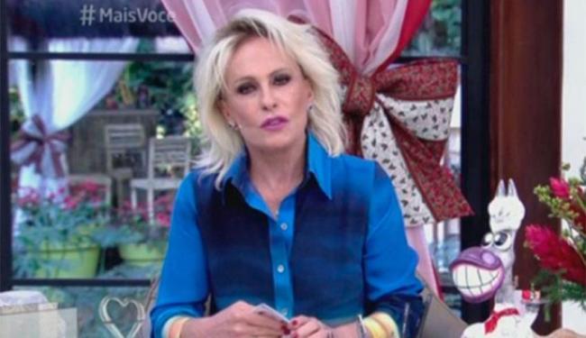 O médico de Ana Maria foi ao programa e informou que a cura da apresentadora é de quase 100% - Foto: Reprodução | TV Globo