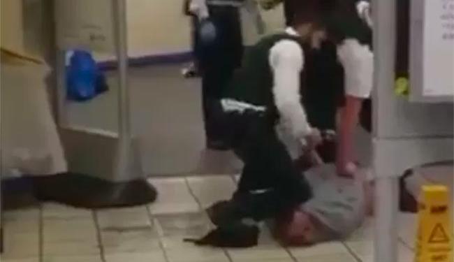 Suspeito foi detido após ataque - Foto: Reprodução | Twitter