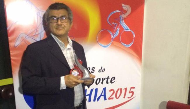 Aurélio Lima, do A TARDE: Prêmio 'Amigo do Esporte' - Foto: Edmilson Ferreira | Ag. A TARDE