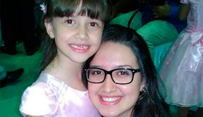 Menina de 7 anos estava com a mãe quando desapareceu; ela foi encontrada morta - Foto: Reprodução