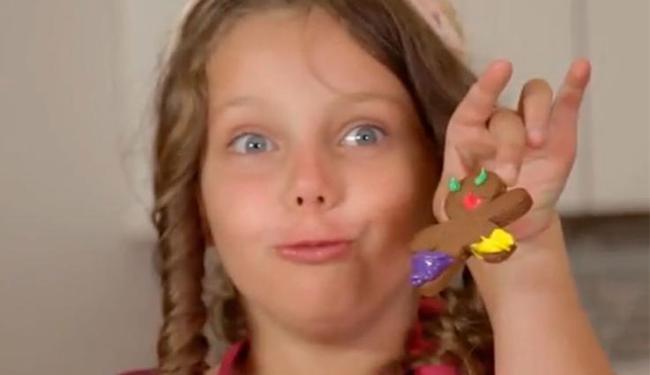 Receita de biscoito é uma boa pedida para fazer com a garotada - Foto: Reprodução