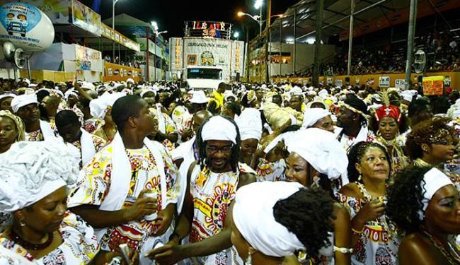 Bloco afro Ilê Aiyê não participa da iniciativa há dois anos e busca parcerias - Foto: Fernando Vivas l Ag. A TARDE l 15.02.2010