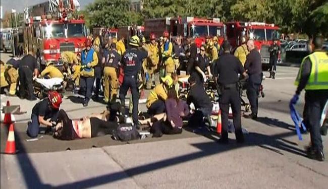 O Departamento de Bombeiros de San Bernardino disse pelo twitter que o número de feridos é 20 - Foto: Reprodução | Reuters