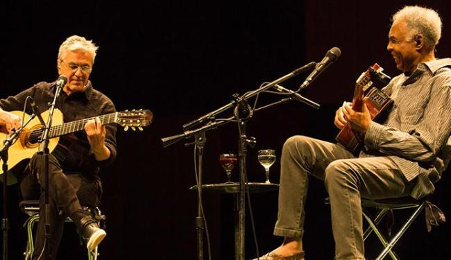Caetano Veloso e Gilberto Gil estão fazendo shows comemorativos pelos 50 anos de carreiras - Foto: Marcos Hermes | Divulgação