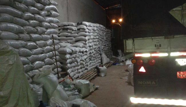 Grupo misturava areia no farelo de soja - Foto: Divulgação | PRF