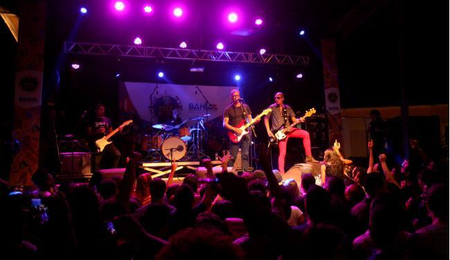 A banda fez o último show no último domingo, 6, no Pelourinho - Foto: Adilton Venegeroles   Ag. A TARDE