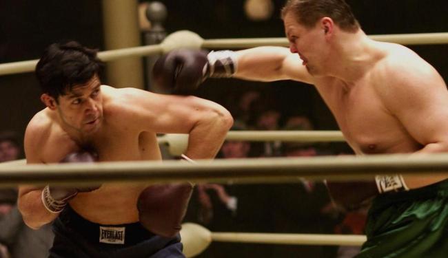 Cena do filme A Luta Pela Esperança, com Russell Crowe - Foto: Divulgação