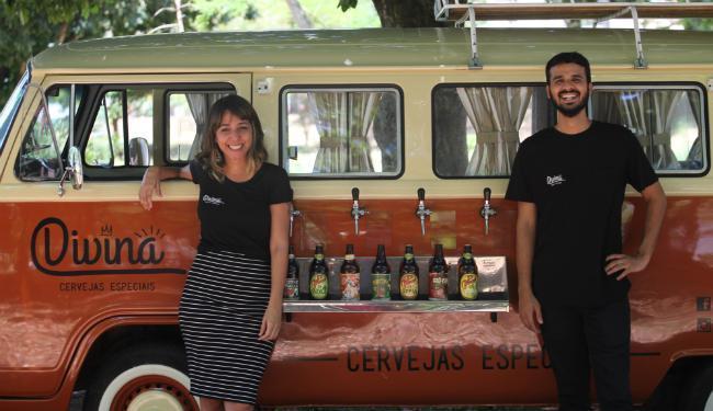 A Divina Beer Truck revende marcas nacionais de cervejas especiais e artesanais - Foto: Xando Pereira   Ag. A TARDE