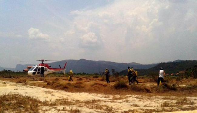 Sema contratou mais dois helicópteros para utilização na luta contra o fogo - Foto: Divulgação