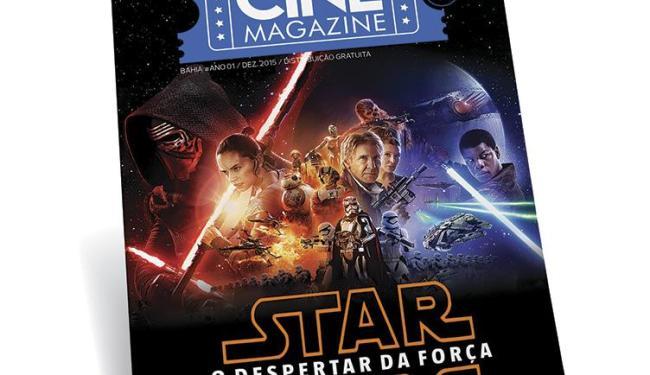 A primeira capa da revista traz o filme