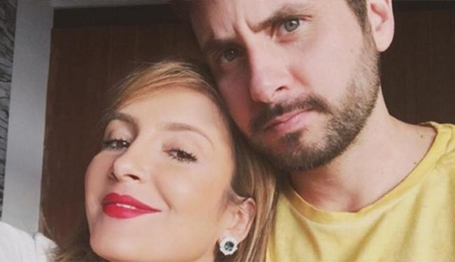 Claudia Leitte e Marcio Pedreira em foto no Instragam - Foto: Reprodução   Instagram