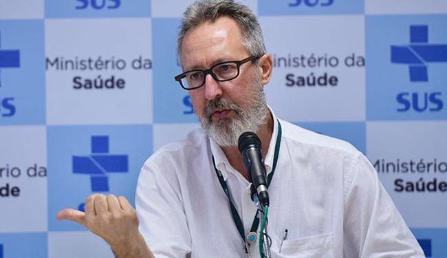 Novos dados foram apresentados diretor do Departamento de Vigilância de Doenças Transmissíveis - Foto: Marcello Casal Jr l Agência Brasil