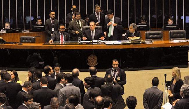 Foram 64 votos não e 2 votos sim à derrubada do veto no Senado - Foto: Jane de Araújo   Agência Senado