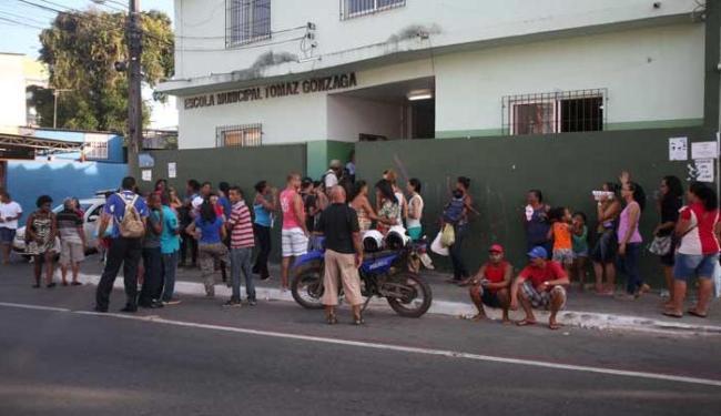 A votação ocorreu em 58 escolas da cidade - Foto: Adilton Venegeroles | Ag. A TARDE
