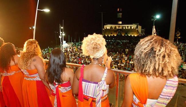 Cantoras apresentaram repertório com músicas baianas e temas africanos para o público - Foto: Fernando Amorim l Ag. A TARDE
