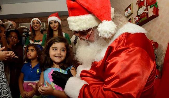 É possível 'conhecer' o bom velhinho na Casa do Papai Noel, no Centro Histórico - Foto: Divulgação