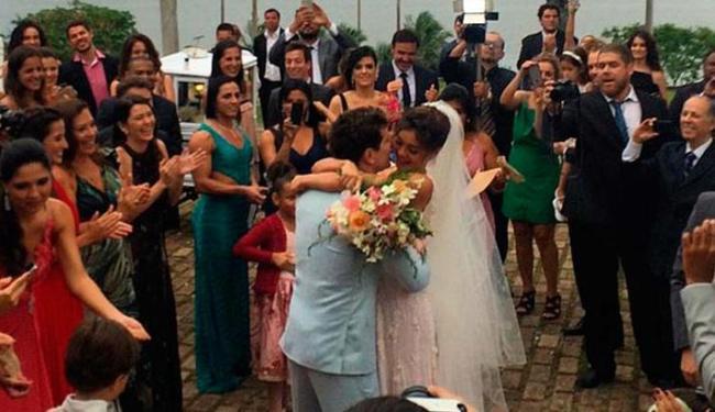 Daniel de Oliveira e Sophie Charlotte se casaram neste domingo - Foto: Reprodução | Instagram