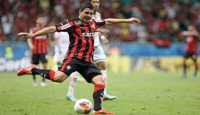 Diego Renan interessa ao Vitória, mas pode sair - Foto: Fernando Amorim l Ag. A TARDE