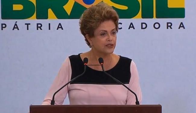 Dilma falou sobre o Acordo de Paris neste sábado, 12 - Foto: Reprodução | Blog Planalto