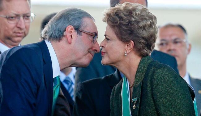 Dilma Rousseff e Eduardo Cunha - Foto: Pedro Ladeira   Folhapress   16.04.2015
