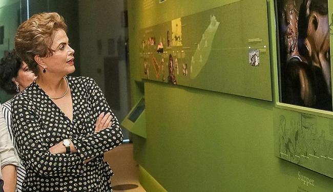 Dilma participou da inauguração do museu mineiro hoje - Foto: Roberto Stuckert Filho/PR | Ag. Brasil