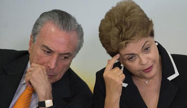 Dilma diz ter plena confiança no vice, Michel Temer - Foto: Marcelo Camargo | Agência Brasil