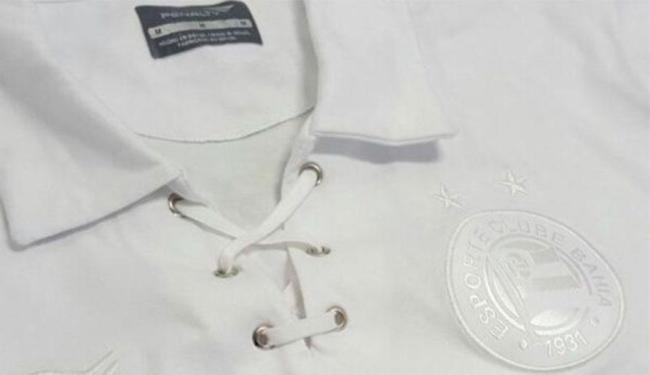 Camisa segue modelo do primeiro uniforme do Bahia em 1931 - Foto: Divulgação | ECBahia