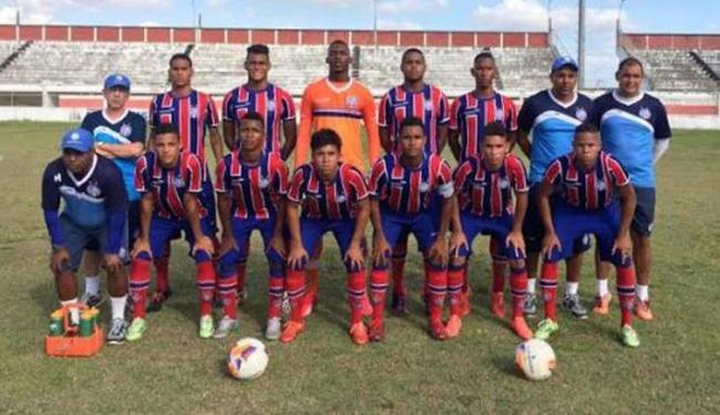 Equipe tricolor segue preparação para estreia na Copinha - Foto: Divulgação   E.C. Bahia