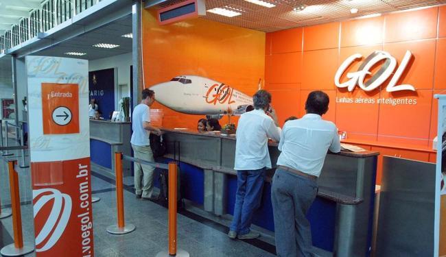 Gol sofre pressões de investidores em meio ao cenário mais adverso para a aviação brasileira - Foto: Fernando Vivas   Ag. A TARDE   11.03.2005