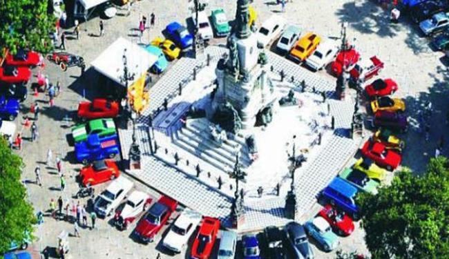 Encontro de Veículos Antigos acontece no Largo do Campo Grande - Foto: Divulgação | Transalvador