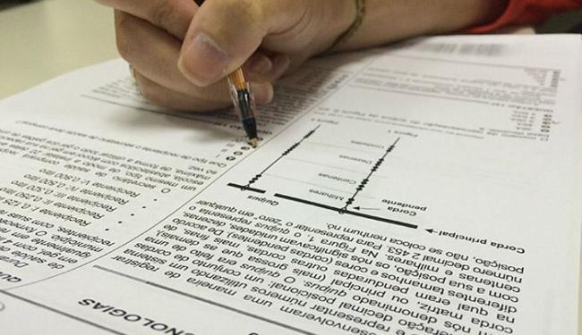 Na Bahia, o Exame Nacional do Ensino Médio (Enem) será realizado em 1.441 locais de prova - Foto: Divulgação