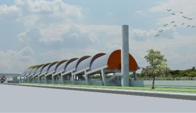 Estação da avenida Paralela - Foto: Divulgação | CCR Metrô