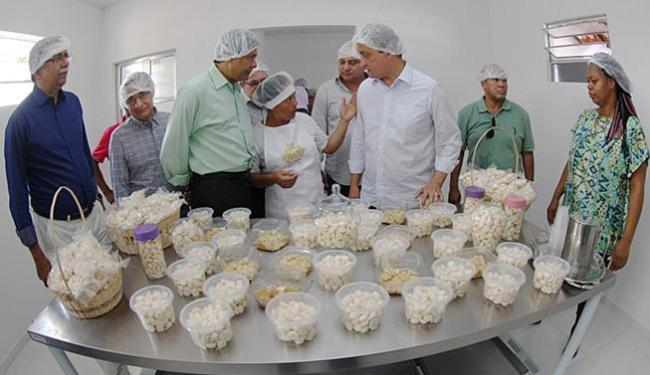 Fábrica de biscoitos vai gerar renda para mulheres - Foto: Secom l Divulgação