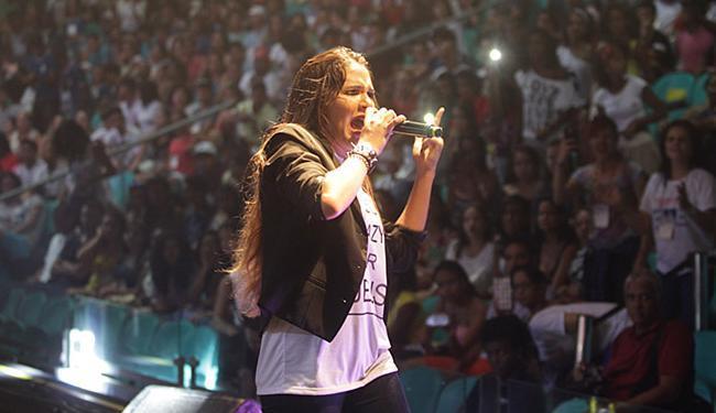 Show com apresentação das 15 músicas finalistas ocorreu na Arena Fonte Nova - Foto: Lúcio Távora l Ag. A TARDE