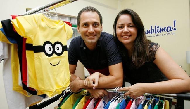 Flávio e Solange conciliam empregos e a administração da Sublima - Foto: Mila Cordeiro   Ag. A TARDE