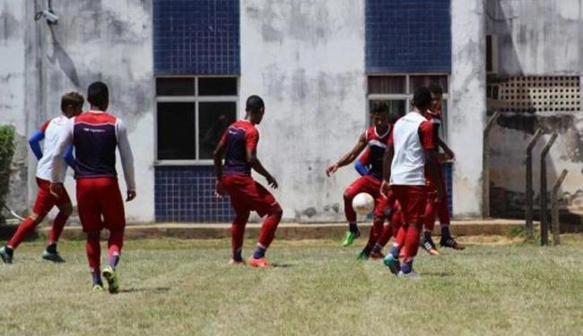 Esquadrãozinho segue treinando forte para Copinha, que terá início em janeiro de 2016 - Foto: Divulgação   E.C. Bahia