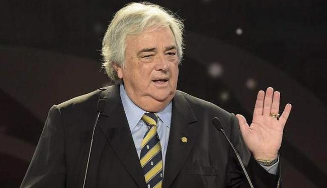 Ele é acusado de corrupção no escândalo que vem abalando a imagem da Fifa desde maio deste ano - Foto: Juan Mabromata | Sapo Desporto | Reprodução