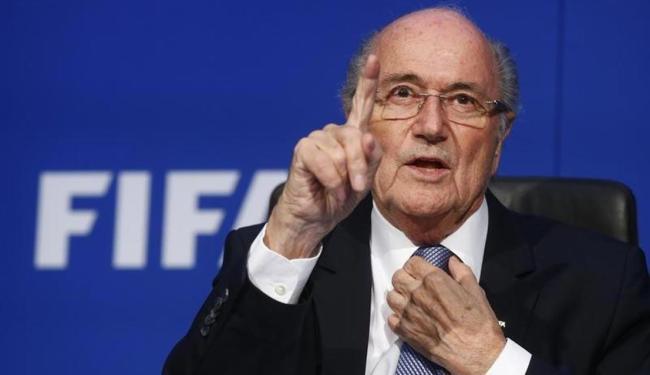 Blatter declarou que o Comitê Disciplinar da Fifa já concluiu as investigaçõe - Foto: Arnd Wiegmann | Agência Reuters