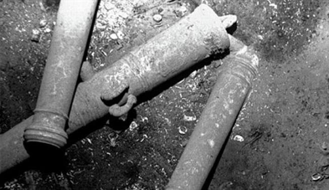 Governo da Colômbia revelou primeiras imagens dos destroços - Foto: DR