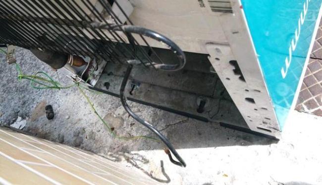 O motor foi roubado na madrugada da segunda-feira, 30 - Foto: Reprodução | Zé Pimenta
