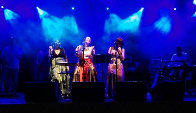 Angela Lopo, Silvia Torres e Tita Alves cantam músicas de Gil - Foto: Divulgação