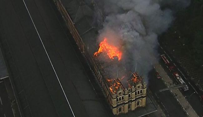 Ainda não há informações da causa do incêndio - Foto: Reprodução   G1