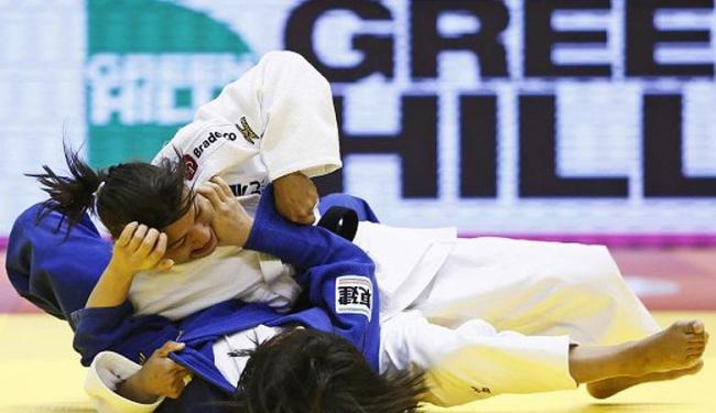 A judoca brasileira encerrou um jejum de quase um ano e meio sem pódios em competições deste nível - Foto: Divulgação   IJF