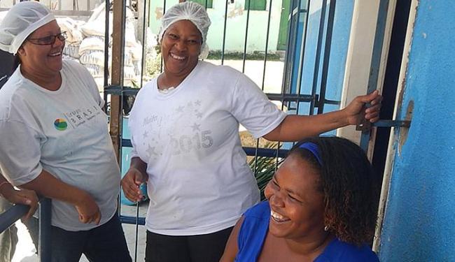 Lúcia, Dejanira e a diretora Clétia estão confiantes na vitória - Foto: Paulo Oliveira l Ag. A TARDE