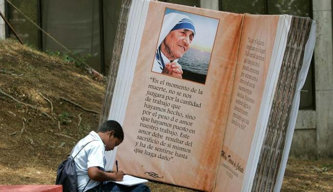 Madre Teresa morreu em 5 de setembro de 1997, aos 87 anos - Foto: Orlando Barría | EFE | 23.04.2010