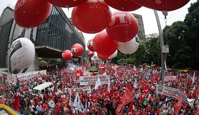 A Secretaria divulgou nota alegando que o número veiculado se referia ao início do protesto - Foto: Reprodução | Agência PT