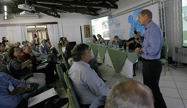 Marcelo de Deus, gerente da Cemig, palestrou durante o evento no Hotel Catussaba, em Stella Maris - Foto: Margarida Neide l Ag. A TARDE