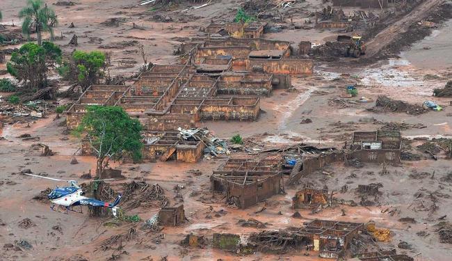 Área afetada pelo rompimento de barragem - Foto: Antonio Cruz   Agência Brasil