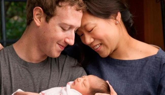Max é primeira filha de Mark Zuckerberg e Priscila Cha - Foto: Reprodução | Facebook