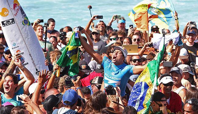 Mineirinho é o segundo brasileiro a alcançar o topo do esporte chegou - Foto: Marcio Fernandes l Estadão Conteúdo